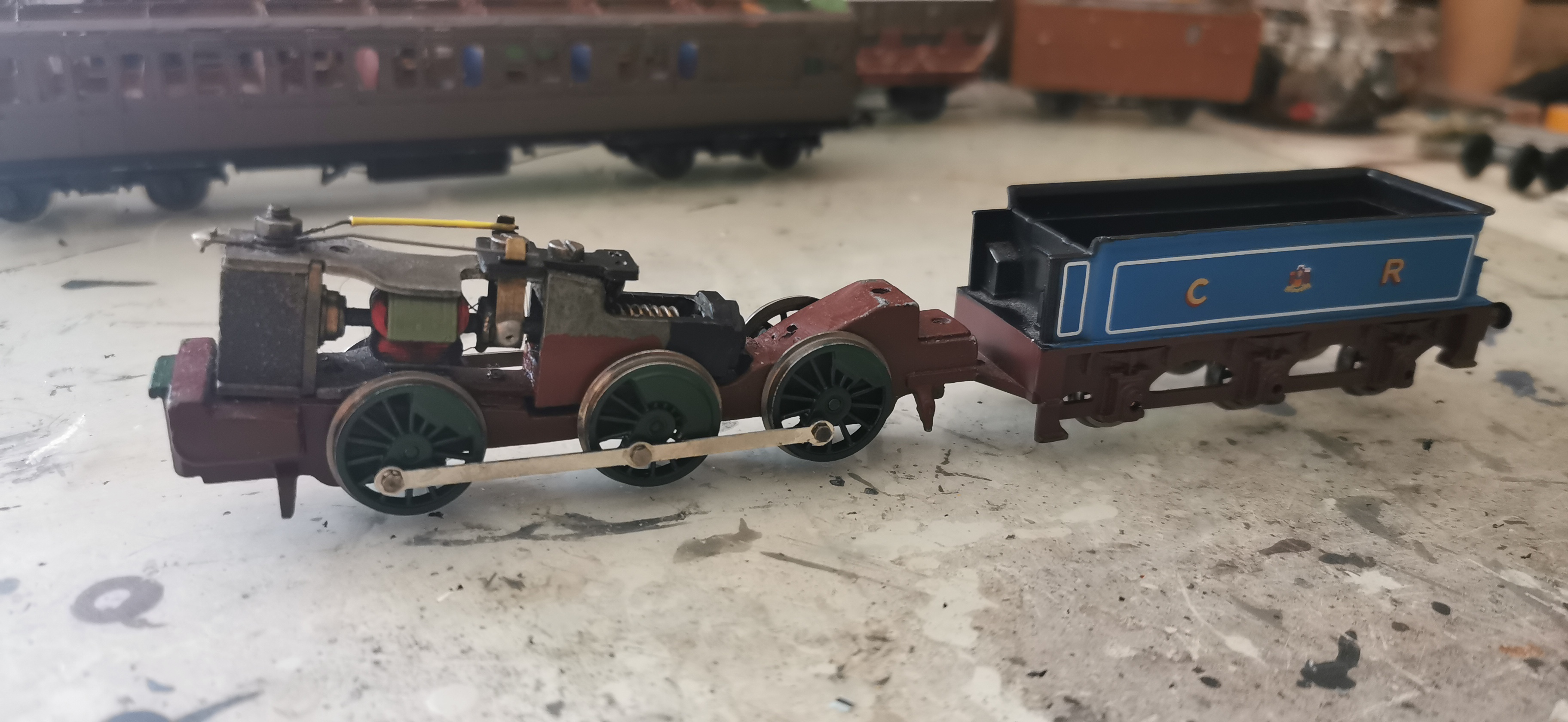 Chassis and Tender for the generic goods