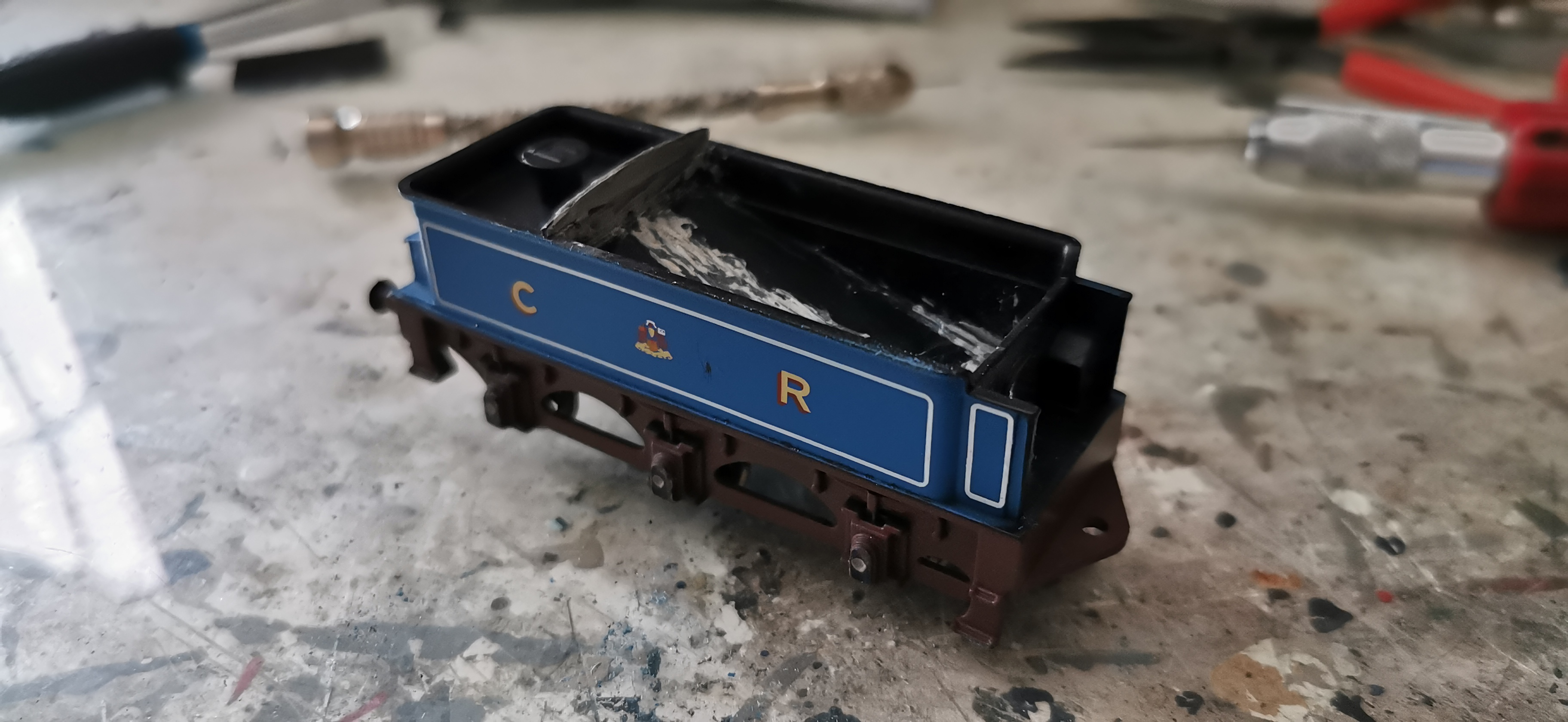 Constructing the tender