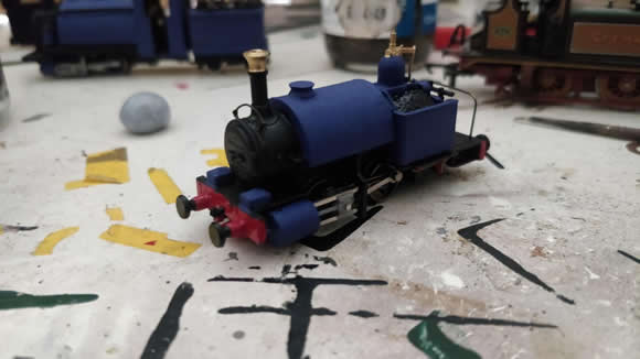 NC&GLR 'Nutley' built from a Bachmann Thomas and Friends Skarloey